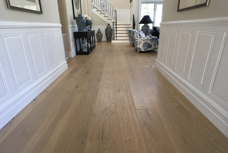 Hamptons Style Scribed Timber Flooring